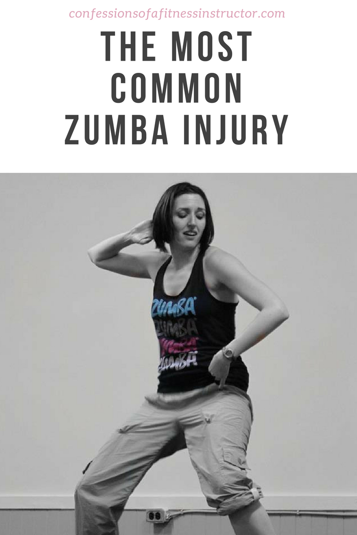The Most Common Zumba Injury