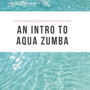 An Intro to Aqua Zumba