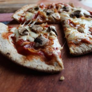 Pita Pizza: Your Lunchtime Savour
