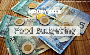 Money Talk: Food Budgeting