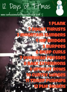 """12 Days of """"Fit""""mas"""