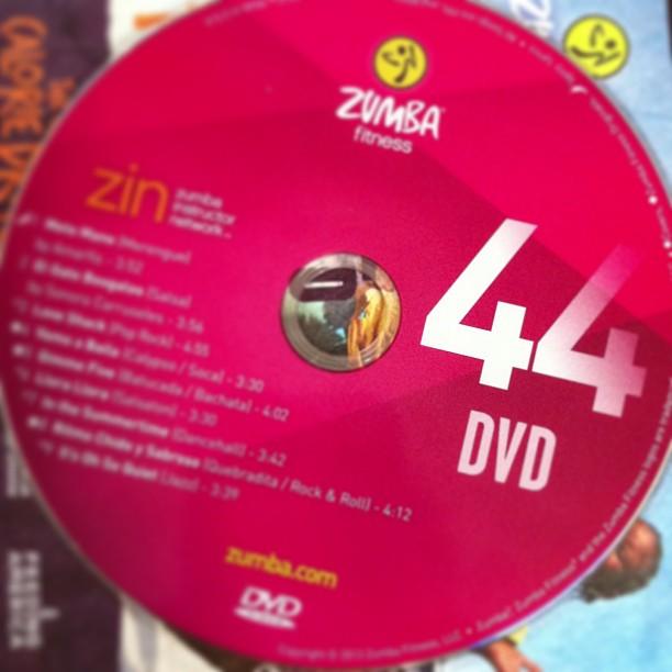 Fitness Music Dvd: Zumba ZIN 44