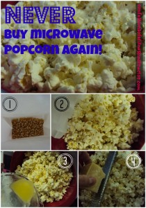 How To Make The BEST Microwave Popcorn