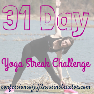 October Yoga Streak Challenge