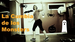 Halloween Dance Fitness: La Cumbia de los Monsters