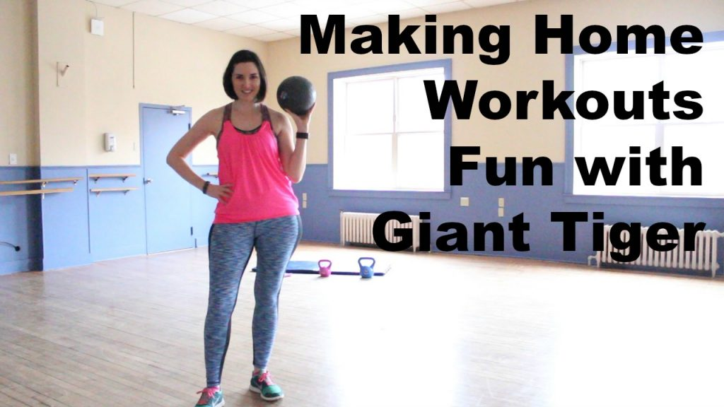 Make your home workouts fun with giant tiger workout