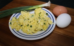 Sour Cream & Onion Scrambled Eggs