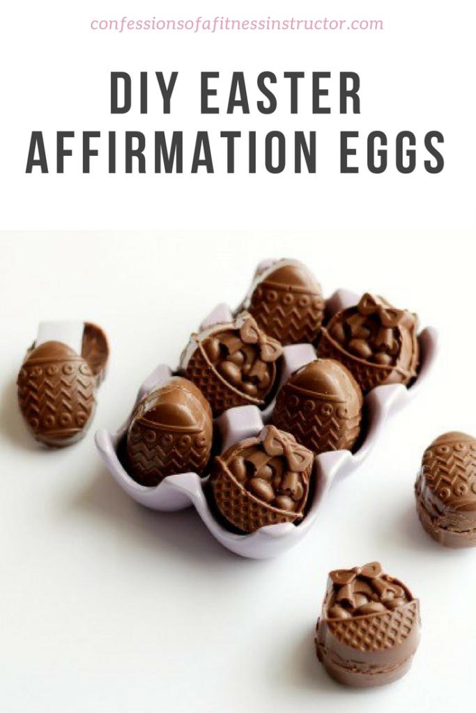 DIY Easter Affirmation Eggs